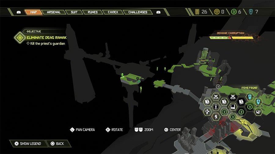 Sentinel Crystal Location #4