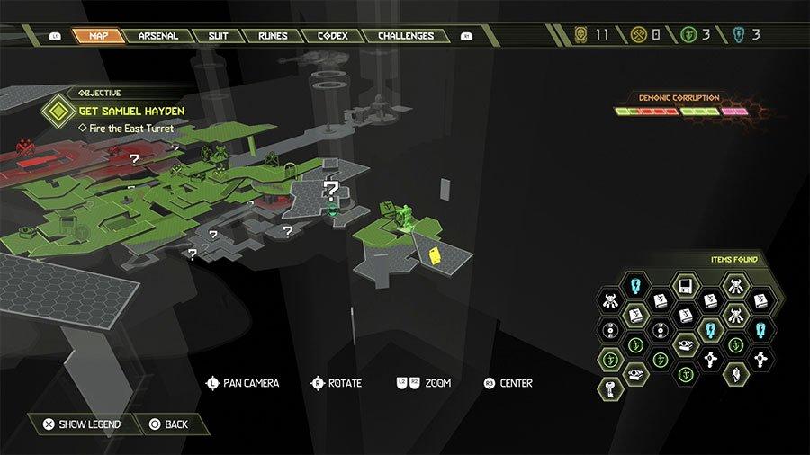 Sentinel Crystal Location #8