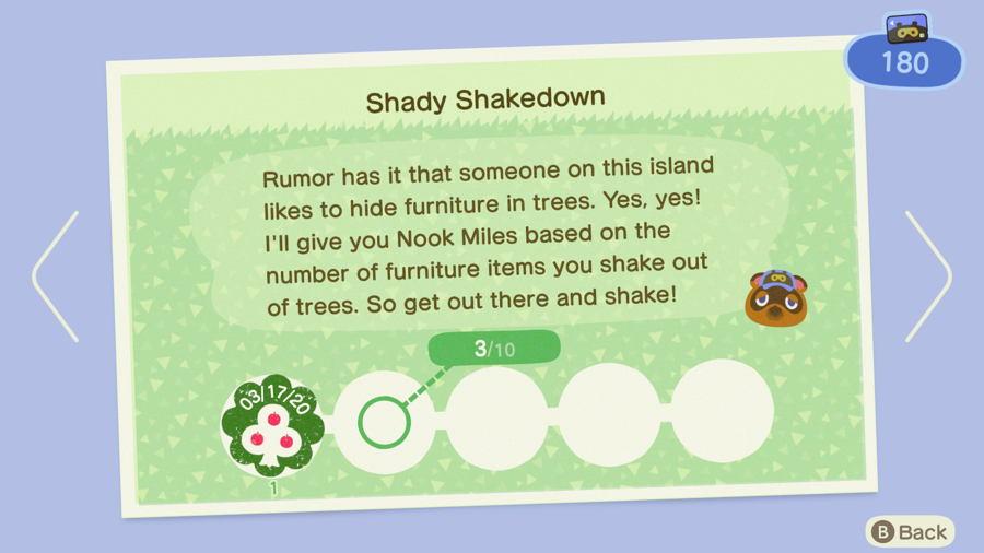 Shady Shakedown Animal Crossing New Horizons