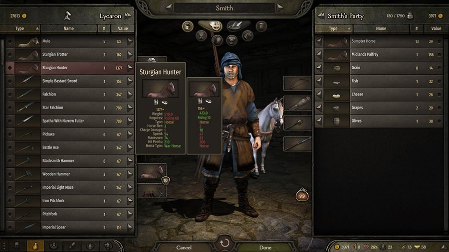 Upgrade Requires Horse Mount & Blade II Bannerlord Guide