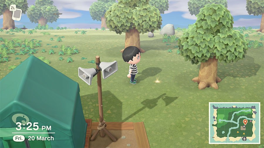 What Are The Shiny Spots On The Floor In Animal Crossing New Horizons