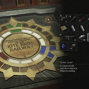 What To Do With Colored Gems In Resident Evil 3 Remake