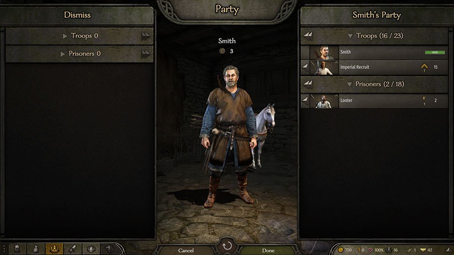 What To Do With Prisoners In Mount & Blade II Bannerlord