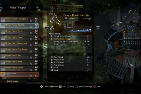 Where To Find Your Pre-Order DLC Items In Nioh 2