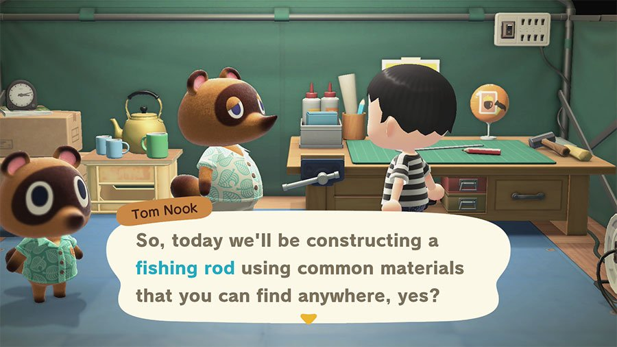 Where To Get A Fishing Rod In Animal Crossing New Horizons