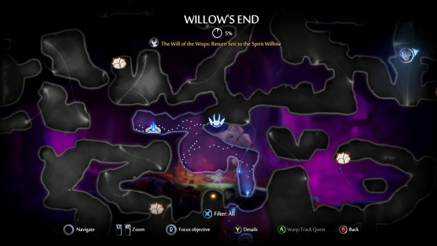 Willows End Ori and the will of the wisps