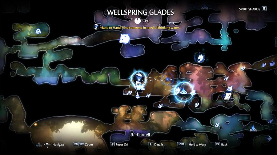 take the Spyglass to Motay in Wellspring Glades