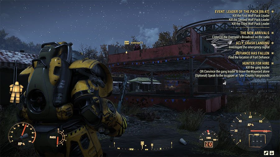 Fairgrounds Scrapper In Fallout 76 Wastelanders