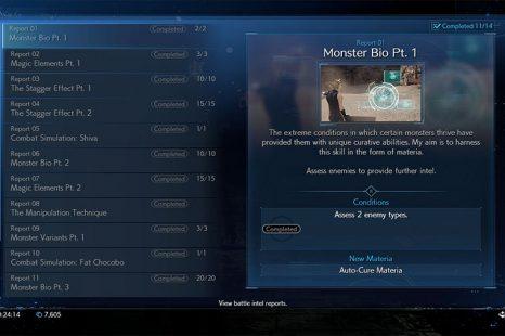 Final Fantasy 7 Remake Battle Intel Guide