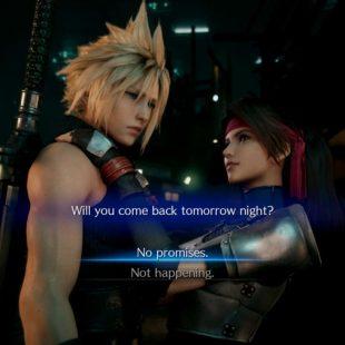 Final Fantasy 7 Remake Choose No Promises Or Not Happening