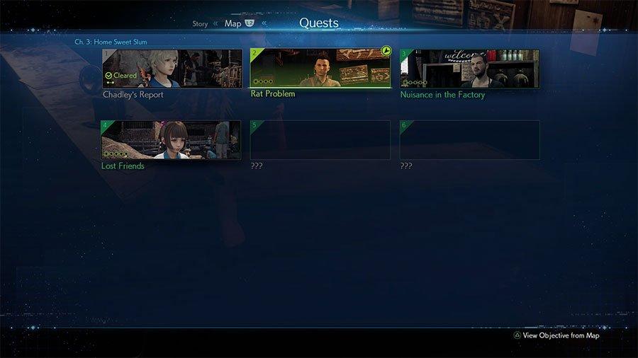 Final Fantasy 7 Remake Quests Guide