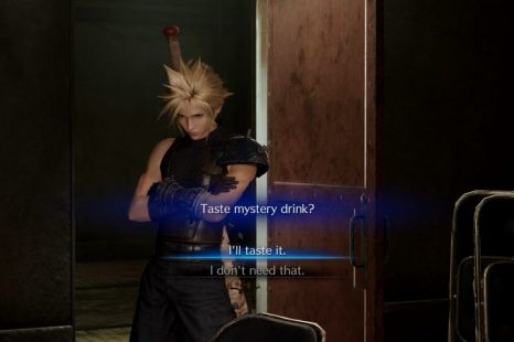 Final Fantasy 7 Remake Taste The Mystery Drink Or Don't Choice