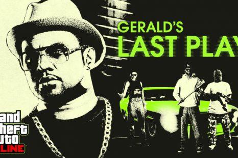 Les dernières missions de Gerald sur GTA Online