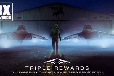 Triple Rewards in Aerial Combat Modes in GTA Online This Week