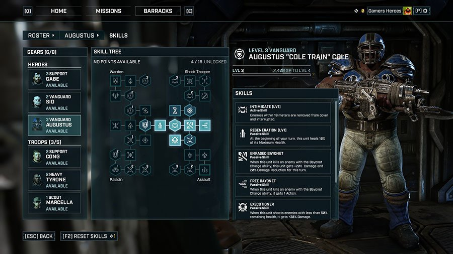 Gears Tactics Class Guide - How To Unlock More Classes