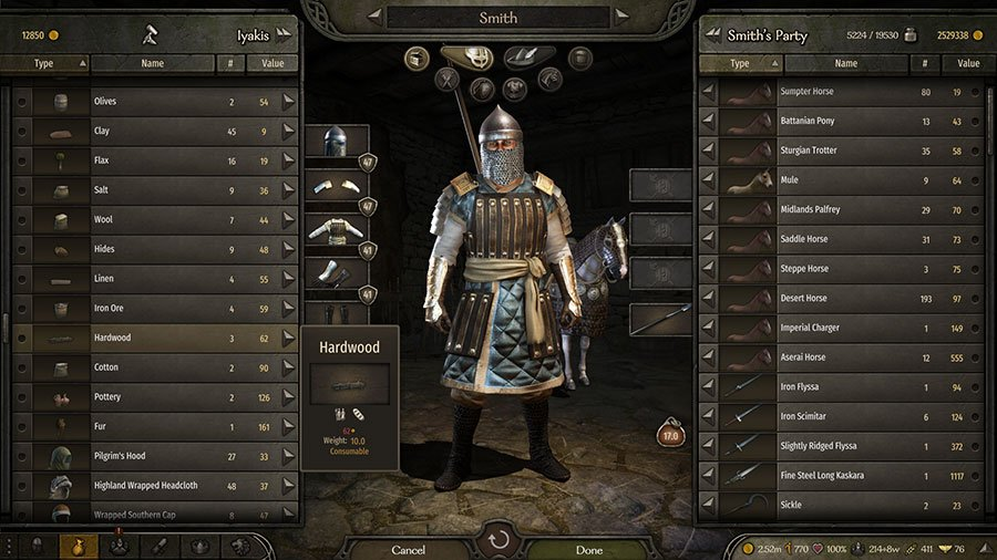How To Get Wood & Charcoal In Mount & Blade II Bannerlord