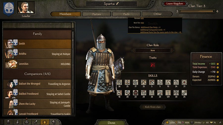 How To Increase Clan Tier In Mount & Blade II Bannerlord