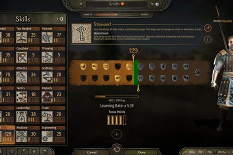 How To Level All Skills In Mount & Blade II Bannerlord