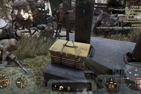 How To Load The Broadcast Tape In Fallout 76 Wastelanders