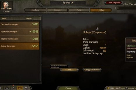 How To Sell Workshops In Mount & Blade II Bannerlord