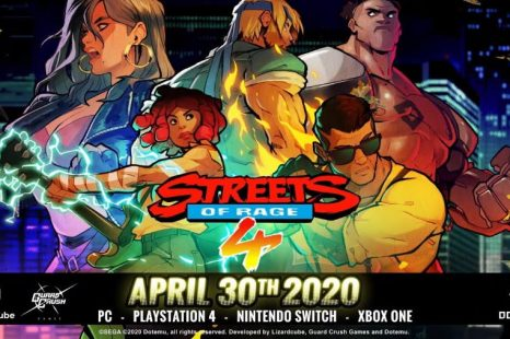 Streets of Rage 4 Coming April 30