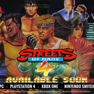 Streets of Rage 4 Getting Retro Tribute