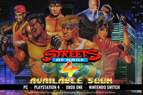 Streets of Rage 4 Getting Retro Tribute