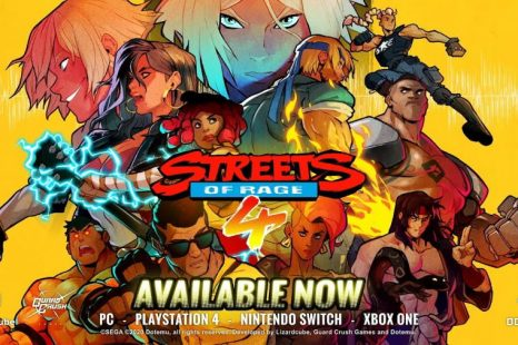 Streets of Rage 4 Gets Launch Trailer