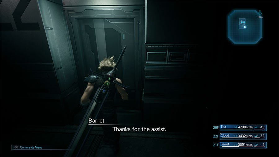 Take The Stairs Or The Elevator In Final Fantasy 7 Remake