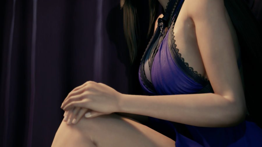 Tifa Blue Outfit