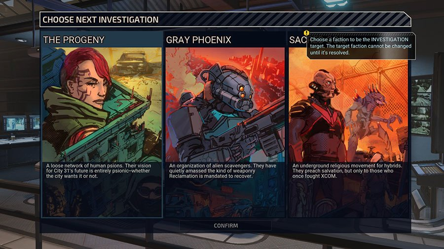 What Faction To Choose In XCOM: Chimera Squad