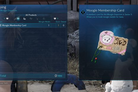 What To Do With Moogle Medals In Final Fantasy 7 Remake