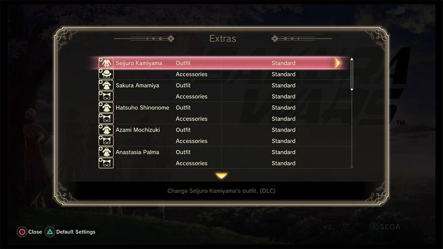 Where To Find DLC Items In Sakura Wars