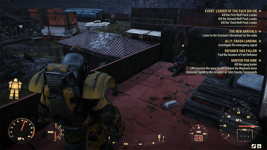 Where To Find Fairgrounds Scrapper In Fallout 76 Wastelanders