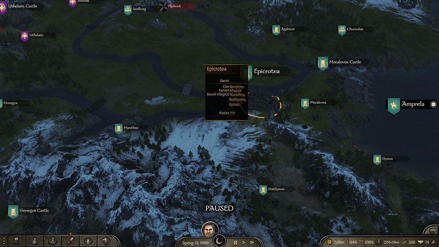Where To Find Istiana & Arzagos In Mount & Blade II Bannerlord