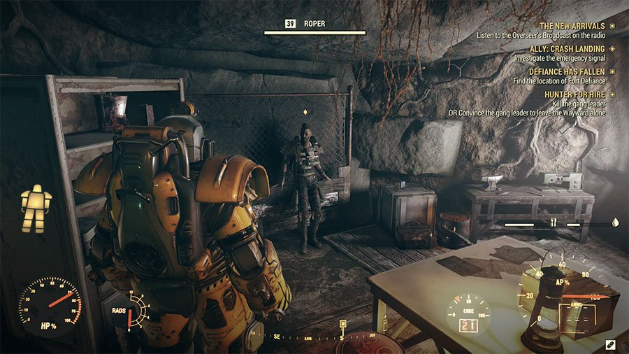Where To Find The The Gang Leader In Fallout 76 Wastelanders