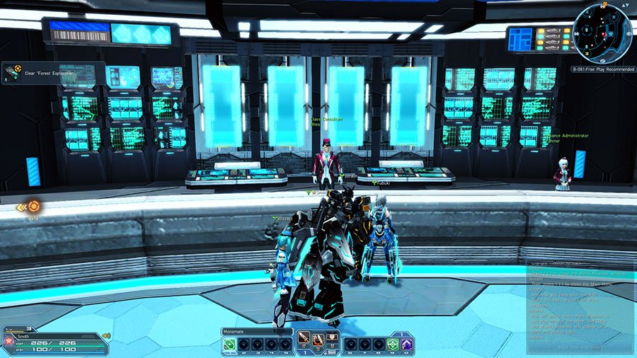 Change Class In Phantasy Star Online 2