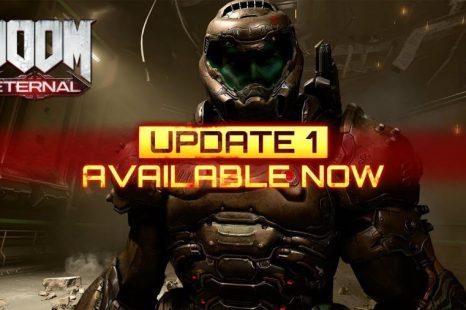 DOOM Eternal First Official Update Now Live