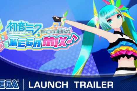 Hatsune Miku: Project DIVA Mega Mix Now Available