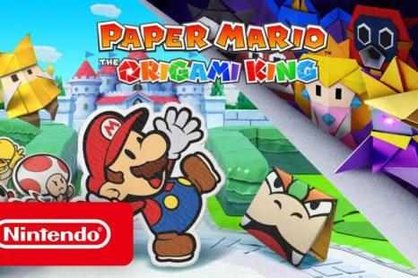 Paper Mario: The Origami King à venir le 17 juillet