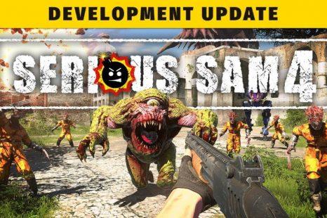 Serious Sam 4 obtient la mise à jour du gameplay du développeur
