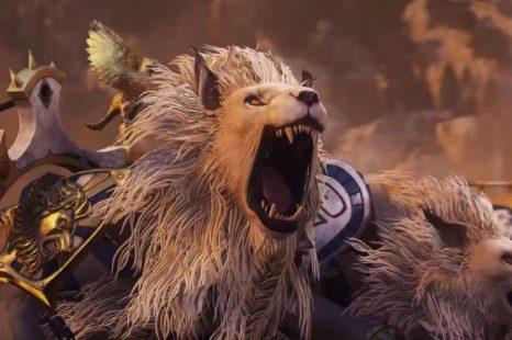 Total War: Warhammer II obtient la bande-annonce des White Lion Chariots of Chrace