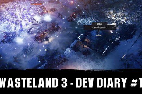 Wasteland 3 obtient son premier journal de développeur