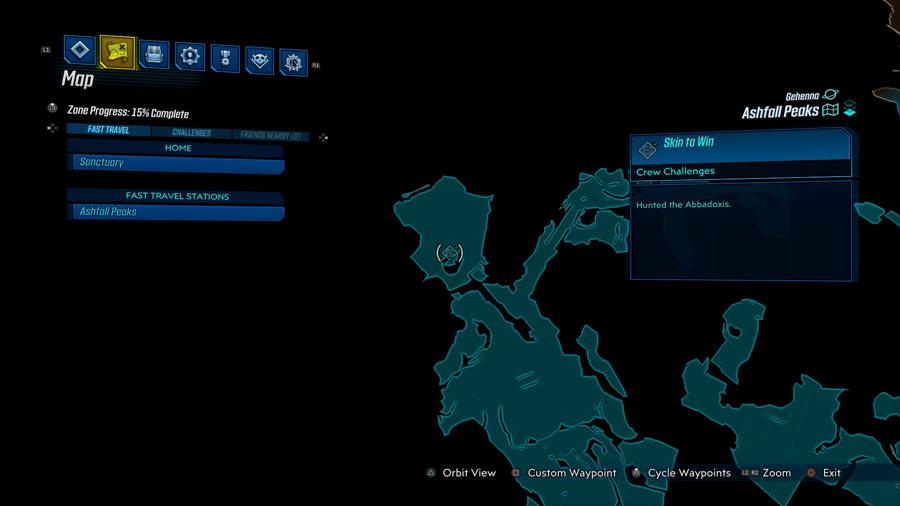 Borderlands 3 Bounty Of Blood Skin TO win Ashfall peaks