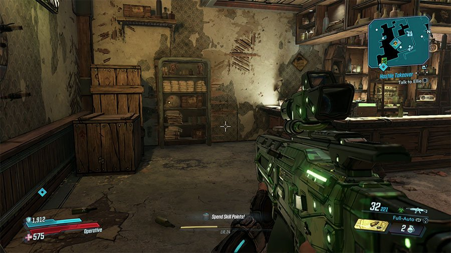 How To Open The Gate In Sheriffs Building In Borderlands 3