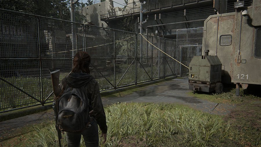 How To Open The Main Gate In TLOU Part 2