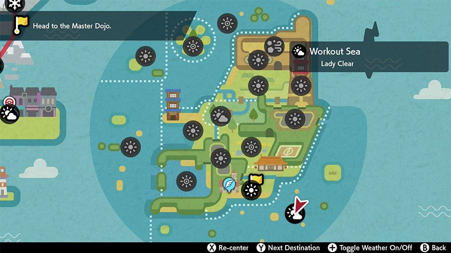 Isle Of Armor New Ditto Den Location