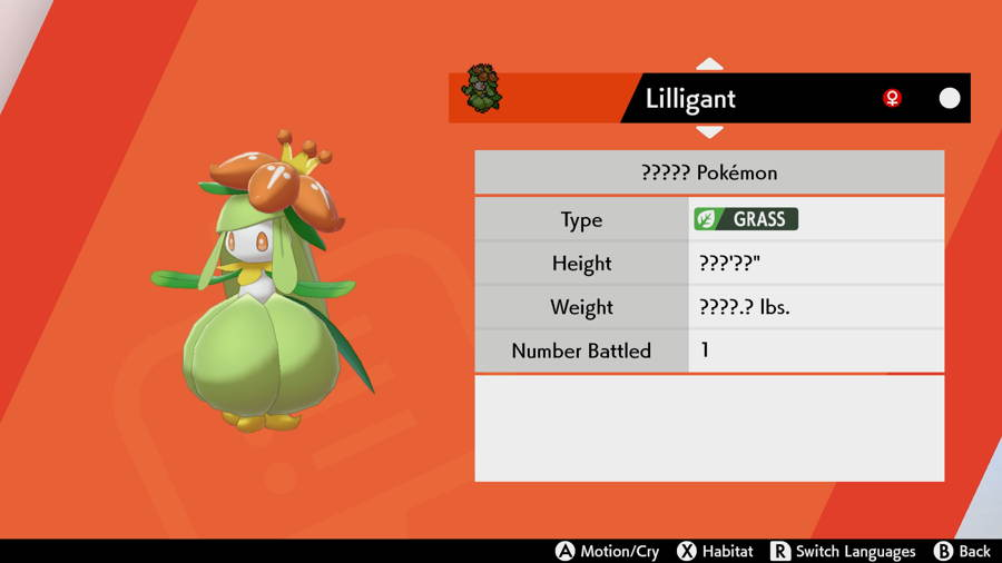Lilligant Pokemon Sword and Shield Isle Of Armor