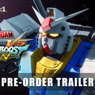 Mobile Suit Gundam Extreme Vs. Maxiboost On Pre-Order Bonuses Detailed