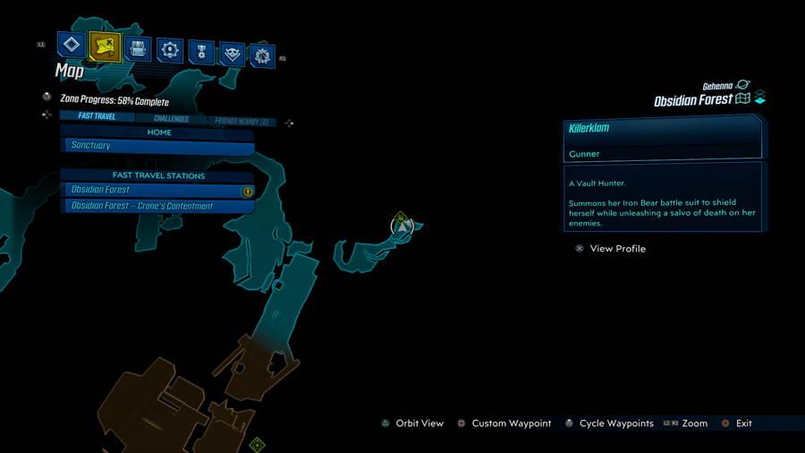 Obsidian Forest Sato Saga 1 Borderlands 3 bounty of blood